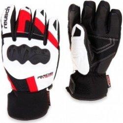 Reusch Race-Tec 12 Training R-Tex GS - red bílé lyžařské rukavice ... c9fc3068bd