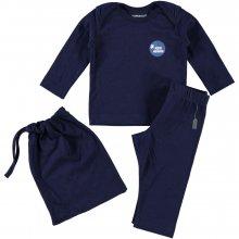 Imps&Elfs Modrý set tričko tepláky a sáček