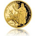 Česká mincovna Zlatá mince Doba Jiřího z Poděbrad Diplomat míru 3,11 g