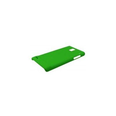Pouzdro Huawei Color Shell Huawei Ascend P1 zelené