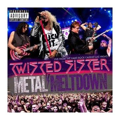 Twisted Sister: Metal Meltdown - Live From The Hard Rock Casino Las Vegas CD/DVD/Blu-ray