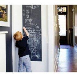 GEKKOFIX 11395 samolepící tabulová fólie Samolepící tabulová tapeta černá 67,5 cm x 15 m