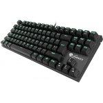 GENESIS NKG-0945 - Mechanická herní klávesnice THOR 300 TKL, USB, US layout, zelené podsvícení