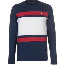 Kangol Long Sleeve T Shirt Mens Navy Stripe 6b7be9bad82