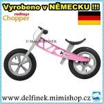 Red Toys CHOPPER AIR s brzdou růžové