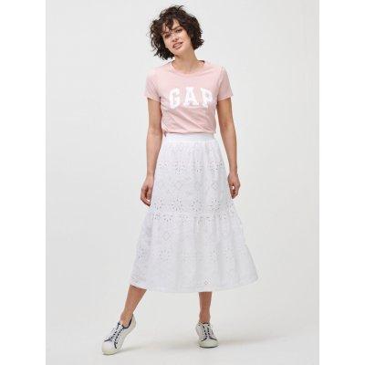 GAP midi sukně bílá