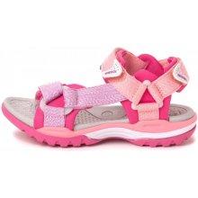 Geox dívčí sandály Borealis růžová