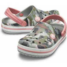 bb1814e7bf7 Crocs Crocband Camo Spec Clog Kids - Camo Light Grey