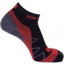 Salomon ponožky Speedcross warm black/matador-x