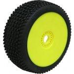 PROCIRCUIT ROAD RUNNER soft/zelená směs Off-Road 1:8 Buggy gumy nalep. na žlutých disk. 2ks
