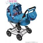 New Baby Dětský kočárek pro panenky modrá