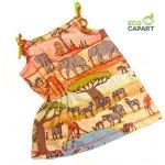 Eco Capart Dětské šaty z BIO bavlny - Safari 58187ced691