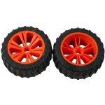 REVELL UTIONS 47207 Set 2x Wheel for Monster orange