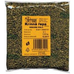 Krmná řepa Rekord Poly červená - semena - 0,2 Kg