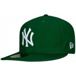 882b1638ea4 Kšíltovka New Era MLB Basic NY zelená bílá