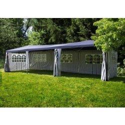 Zahradní domek Zahradní stan modrý, 3 x 9 m