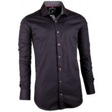 17d4d290348 Brighton pánská košile slim fit 100 % bavlna Černá 109949