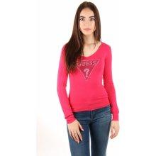 0a60fd78360 Guess dámský svetr růžový