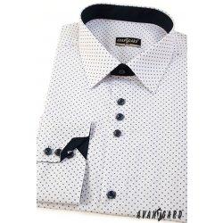 3bc5e427b94 Avantgard Pánská košile SLIM dlouhý rukáv bílá od 1 149 Kč - Heureka.cz
