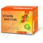 Noventis Vitamín C + Rakytník tbl.40