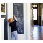 KUPSI-TAPETY 10-009 Samolepící tabulová folie černá matná, samolepící tabule šíře 45 cm