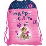 Karton P+P sáček na cvičky Kočka