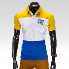 Ombre clothing pánské tričko Superior žluté
