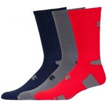 26ee4a33db2 Under Armour pánské ponožky HeatGear Crew Socks 3-Pack-600-LG