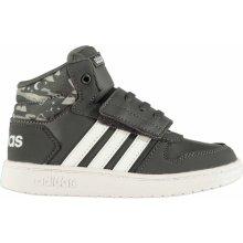 Dětská obuv adidas Hoops Mid - Heureka.cz 252a6e9274