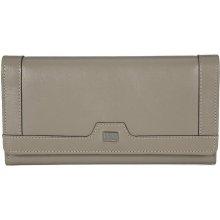 dámská béžová kožená peněženka MANO 20100