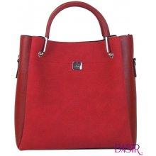 f57ad83a1e7 Grosso elegantní dámská kabelka S728 Tmavší červená