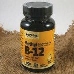 Jarrow Methyl B12 Vitamin B12 Metylkobalamin 1000 μg x 100 pastilek