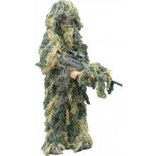 """Maskovací oblek """"Hejkal"""" Ghillie Suit 4-dílný ANTI FIRE Mil-Tec woodland"""