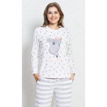 Vienetta Secret Koala dámské pyžamo dlouhé b4ffe80bd1