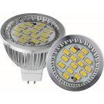 SMD Lighting LED žárovka MR16 6W bílá Teplá bílá