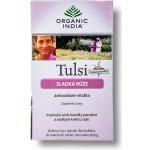 Organic India Tulsi Sladká ruža 18 sáčků