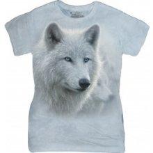 5de29180f33f Dámské tričko Bílí vlci The Mountain 28397