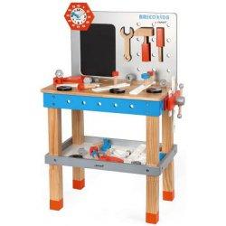 899fe6aa81396 Janod dřevěná dětská dílna s nářadím 40 ks