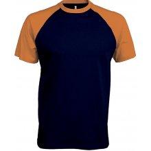 Baseball Temně modrá a oranžová