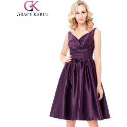 cf56e313e741 Grace Karin koktejlové šaty GK000126-2 fialová alternativy - Heureka.cz