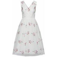 Chi Chi London koktejlové šaty bílá růžová da77158916