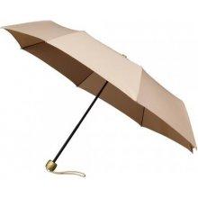 Dámský skládací deštník FASHION béžový