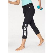 72b80cbf0 Nike Sportovní legíny WOMEN CAPRI JUST DO IT, černá-bílá