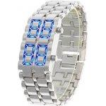 LED IRON SAMURAI, Stříbrné modré