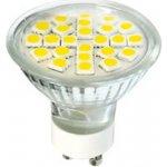 Greenlux LED žárovka 4W GU10 270lm 24SMD DAISY Teplá bílá