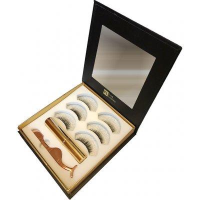 Fair Lashes Magnetický set Multi Kit 3 Volume Magnetické řasy s magnetickou oční linkou