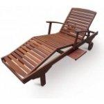 Zahradní lehátko dřevěné SAP Meranti V-GARDEN