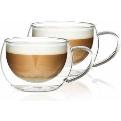 4Home Termo sklenice na cappuccino Hot&Cool 0,28l 2 ks