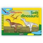 Svět dinosaurů didaktické omalovánky