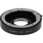 FOTODIOX adaptér Praktica B na Nikon s optikou